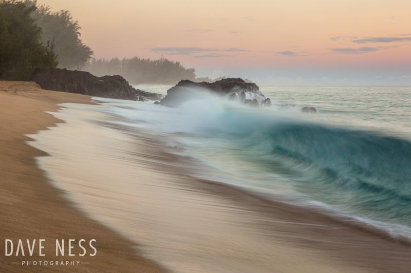 Shore Break at Sunrise